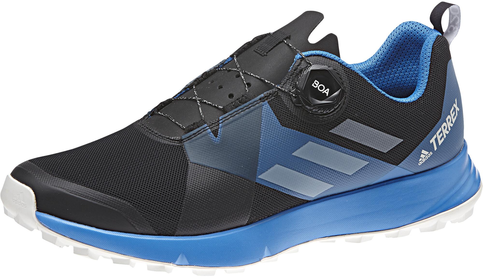 buy online 29b85 4d307 adidas TERREX Two Boa scarpe da corsa Uomo blu nero